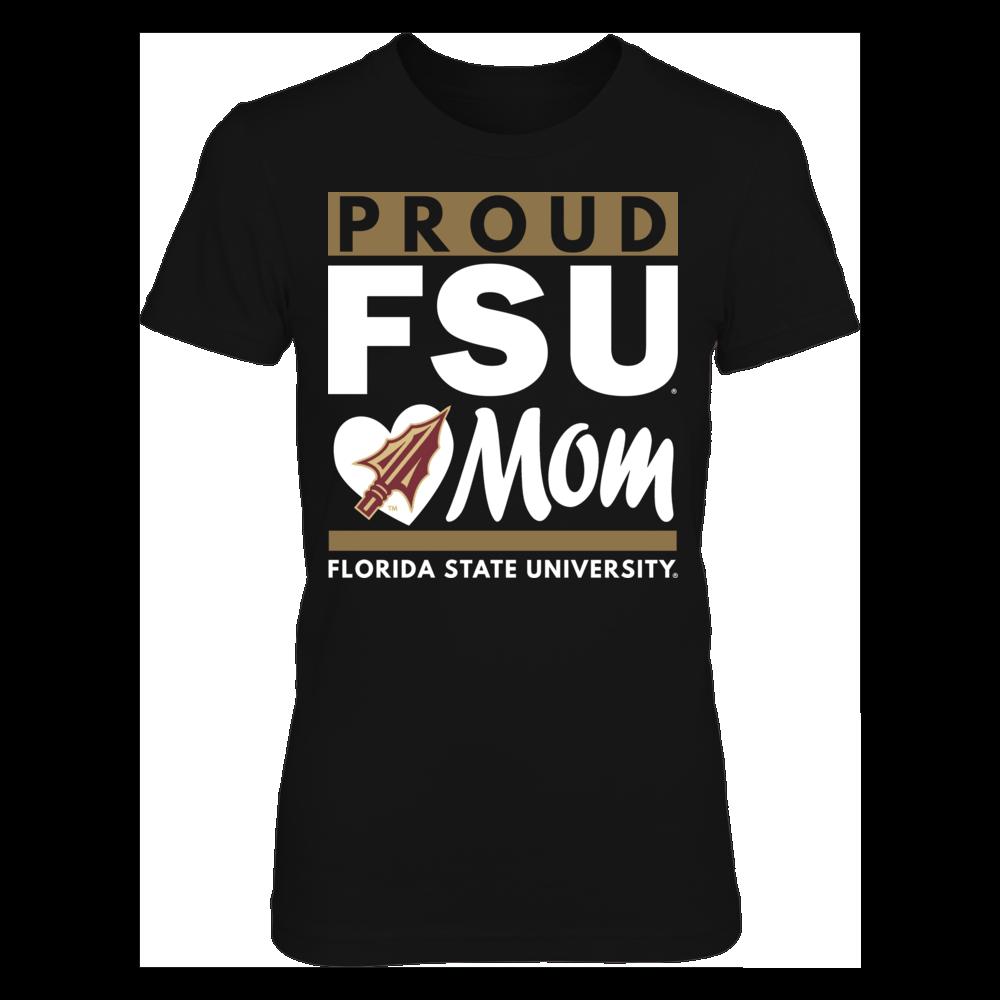 Florida State Seminoles Florida State University Proud Mom FanPrint