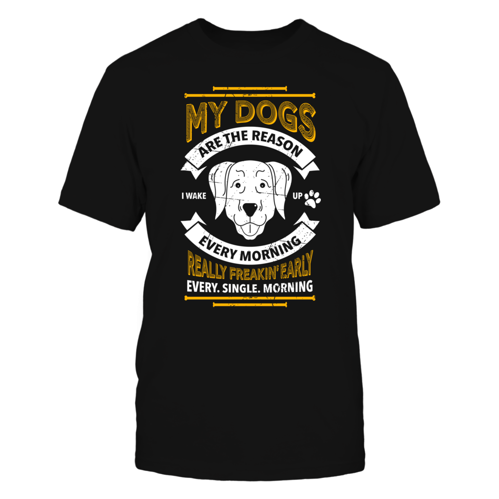 TShirt Hoodie MY DOGS ARE THE REASON FanPrint