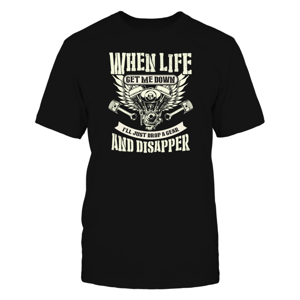 TShirt Hoodie WHEN LIFE GET ME DOWN FanPrint