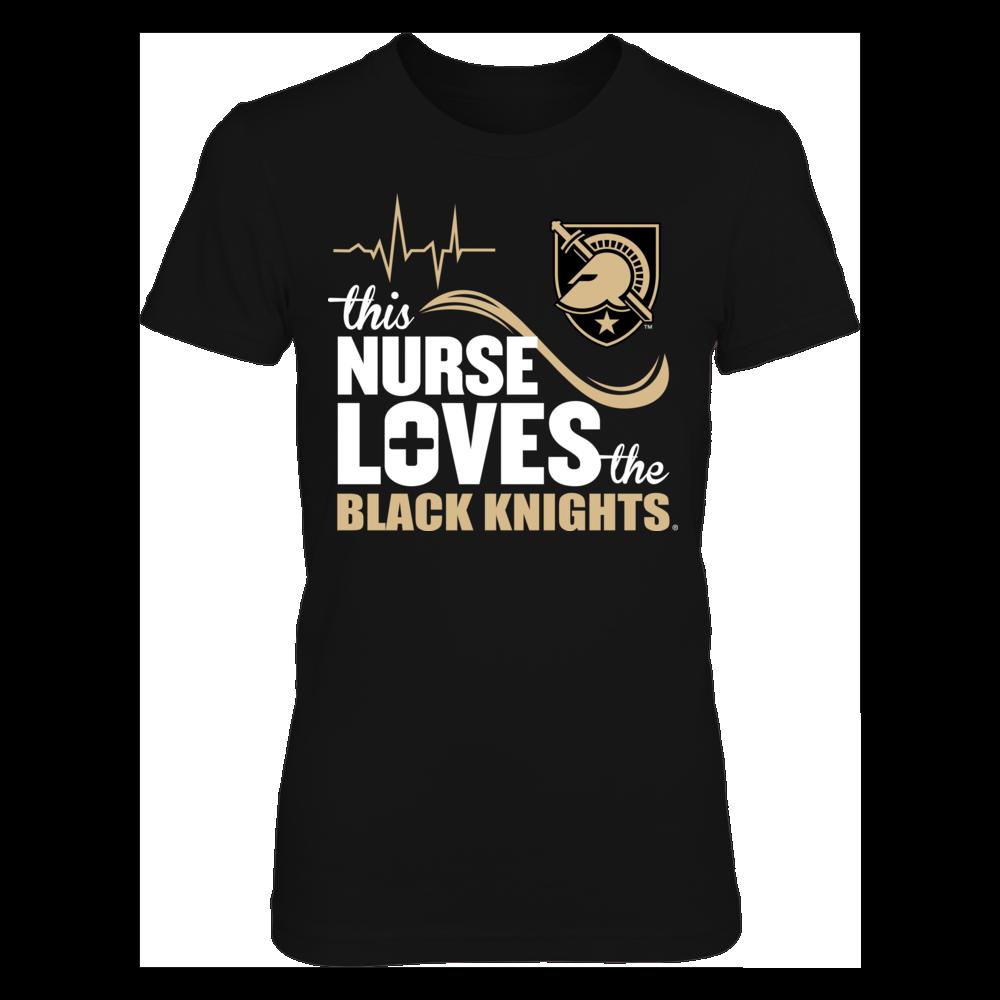Army Black Knights This Nurse Loves - The Black Knights FanPrint