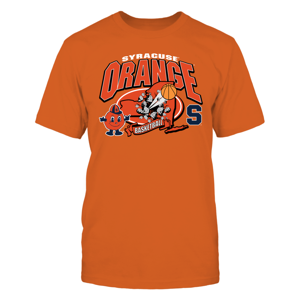Syracuse Orange Syracuse Orange Basketball FanPrint