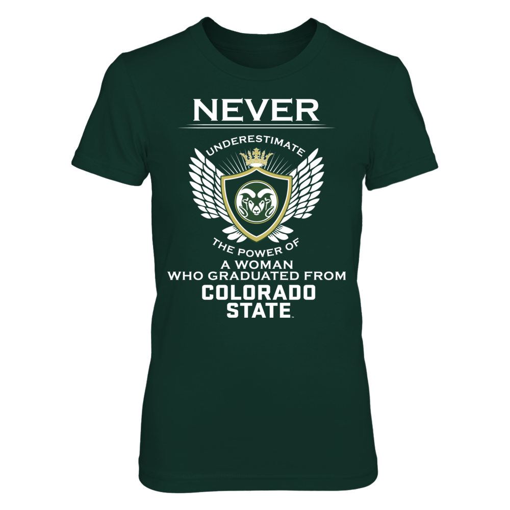 Colorado State Rams - Never Underestimate Front picture