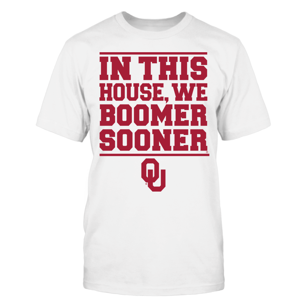 Oklahoma Sooners In This House We Boomer Sooner FanPrint