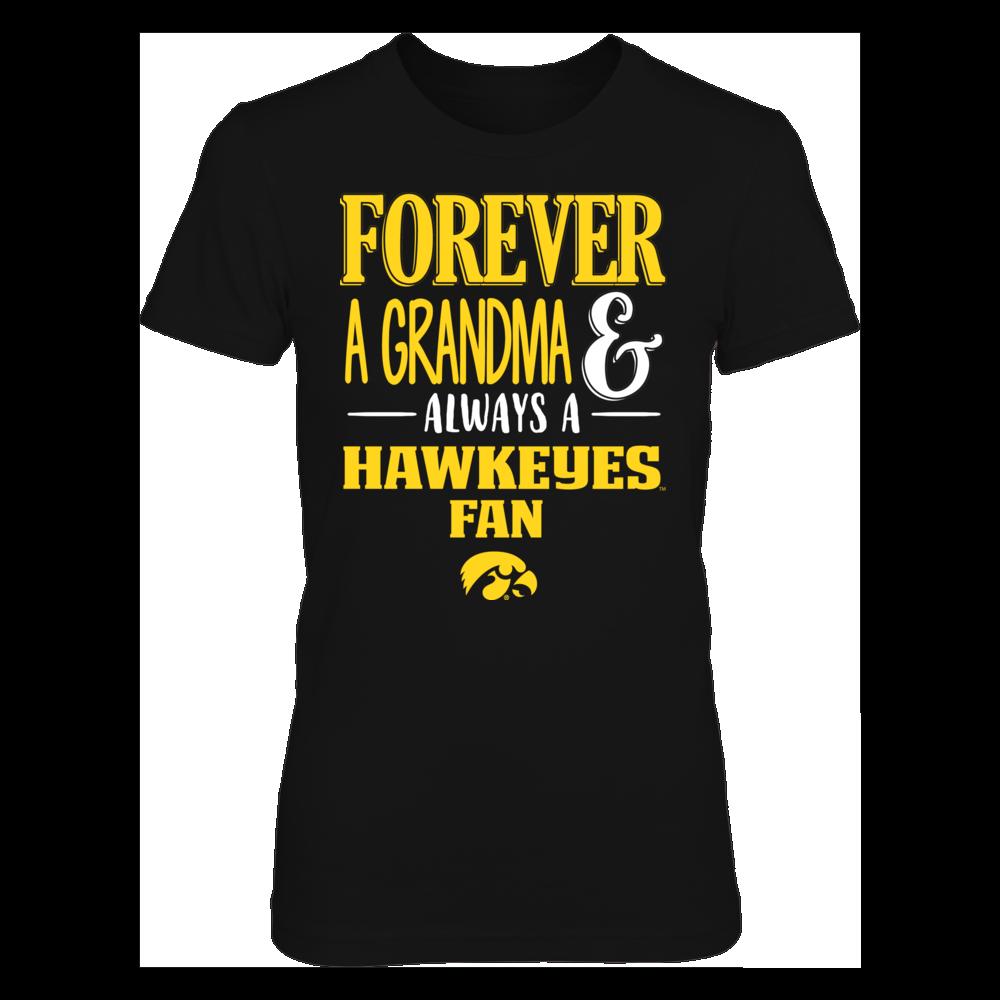 Iowa Hawkeyes - Grandma fan Front picture