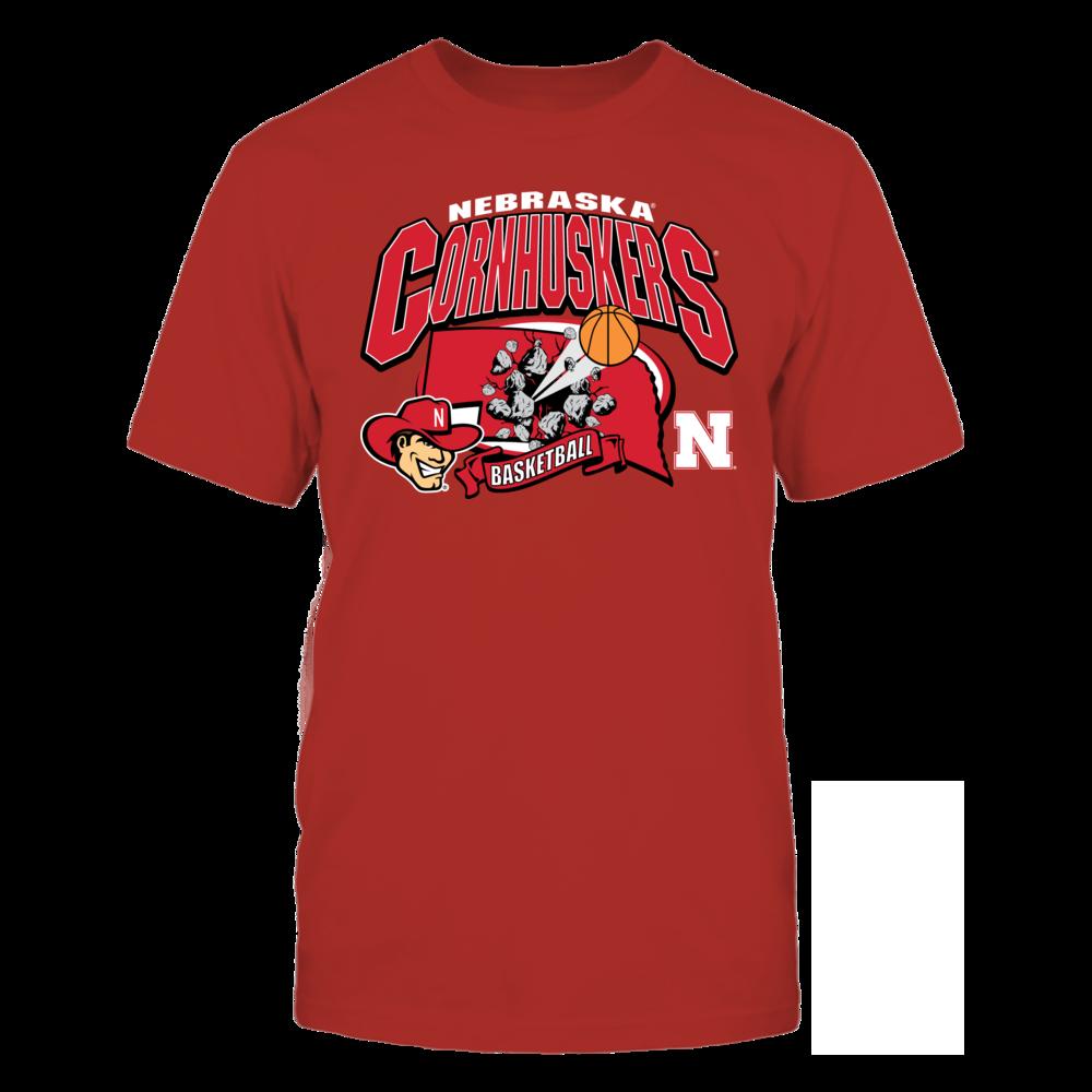Nebraska Cornhuskers Nebraska Cornhuskers Basketball FanPrint