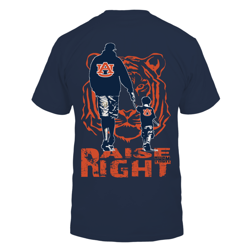 Auburn Tigers - Raise Them Right Back picture