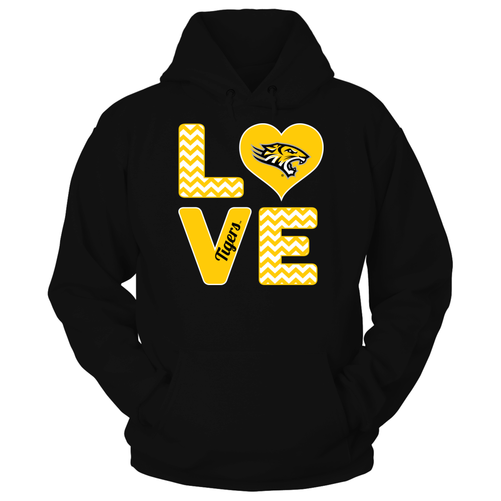 Towson Tigers Towson Tigers - Stacked Love FanPrint