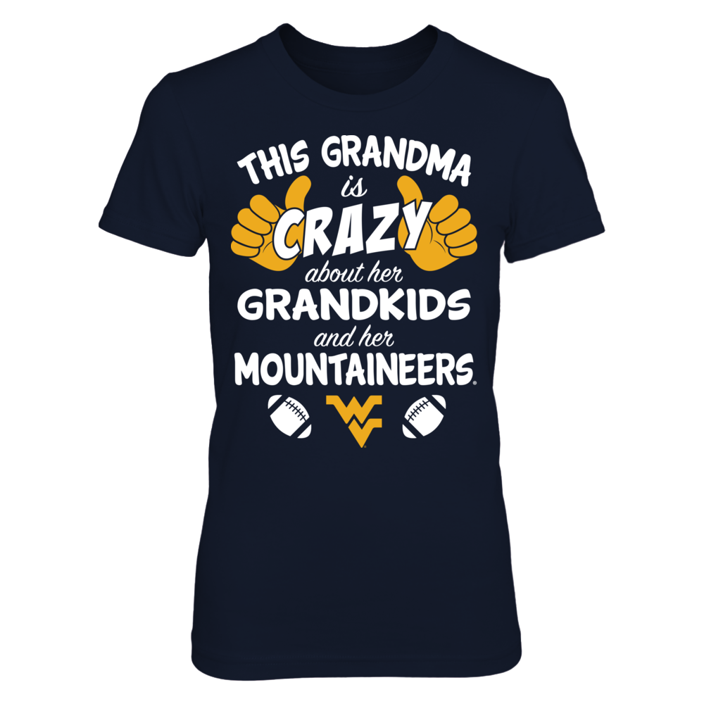 West Virginia Mountaineers - This Grandma Is Crazy About Football Front picture