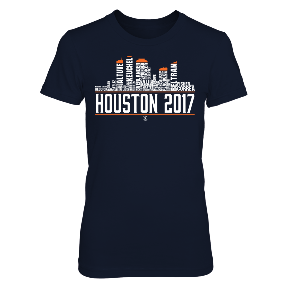 Carlos Correa Houston Skyline 2017 FanPrint
