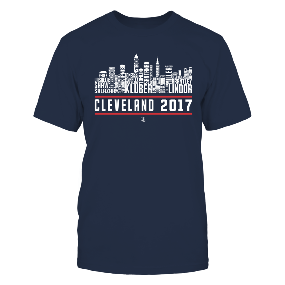 Corey Kluber - 2017 Cleveland Skyline Team Roster Front picture