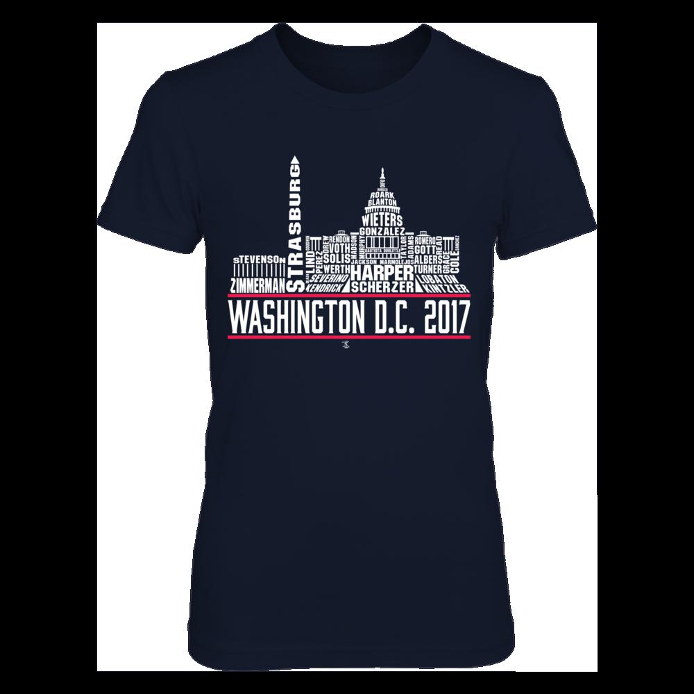 Washington DC Skyline 2017 Front picture