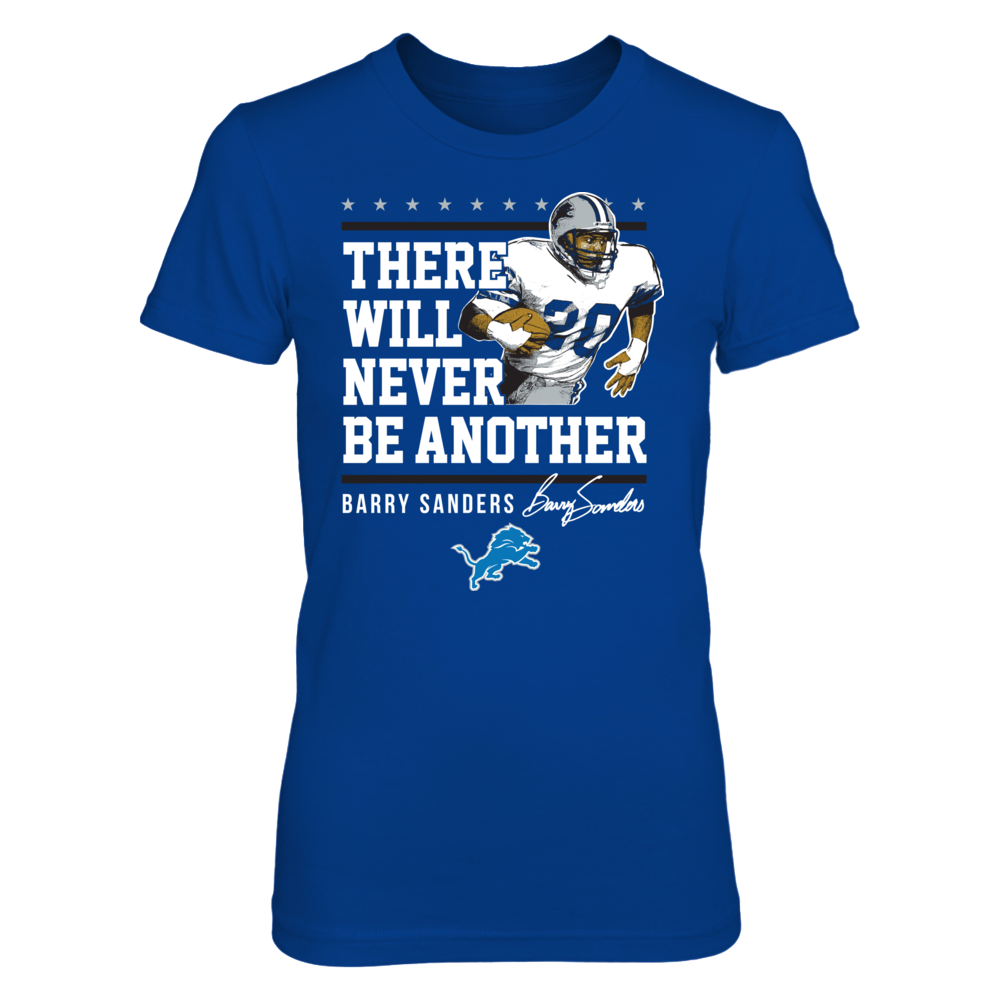 Detroit Lions Barry Sanders - Never Be Another FanPrint