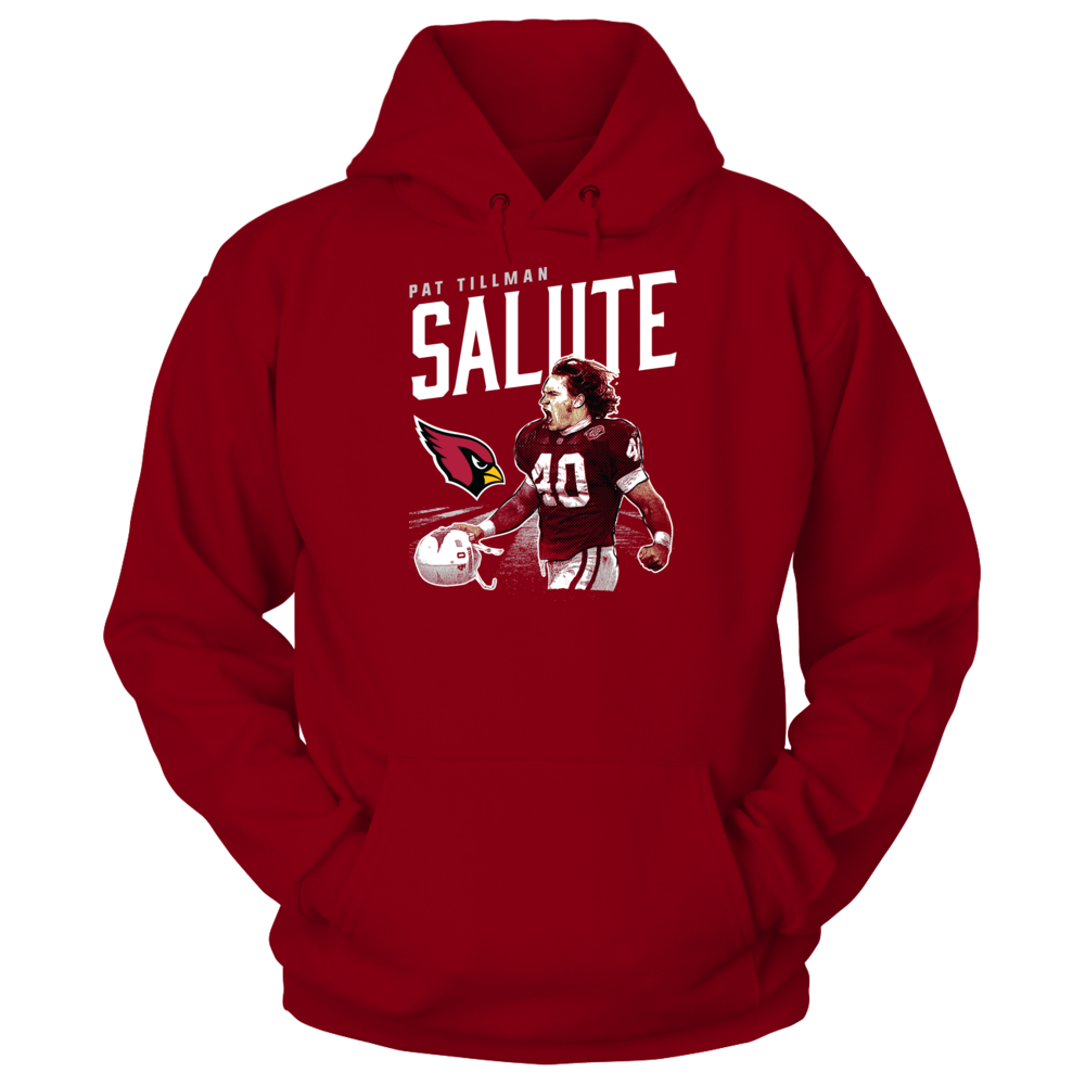 Pat Tillman - Salute To Front picture