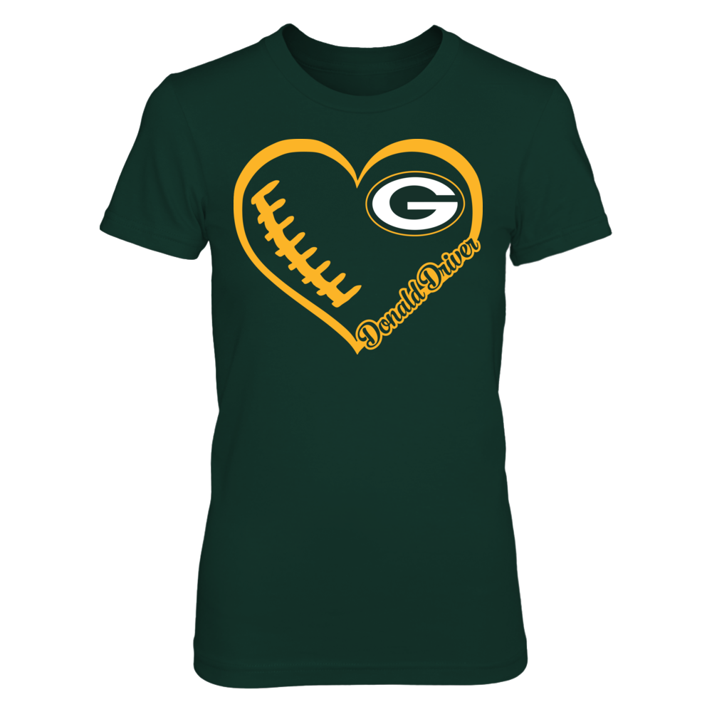 Donald Driver - Heart Team Front picture
