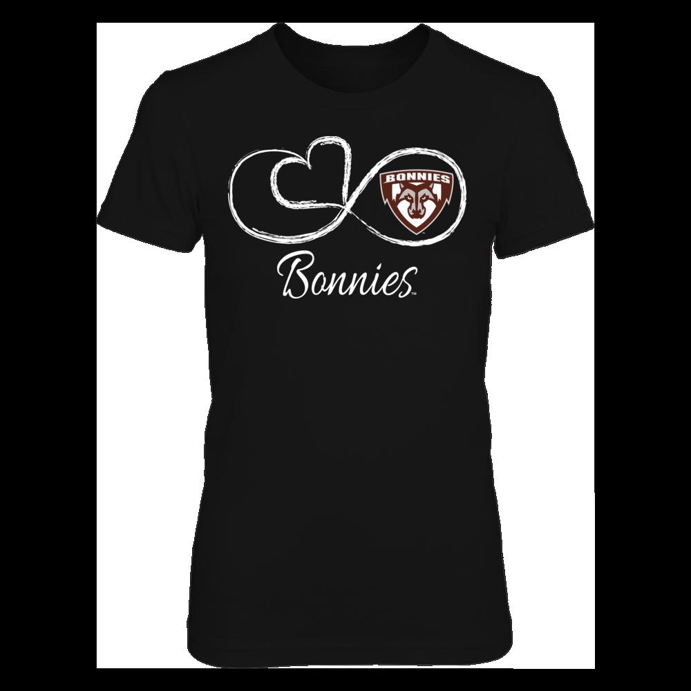 St. Bonaventure Bonnies St. Bonaventure Bonnies - Infinite Heart FanPrint