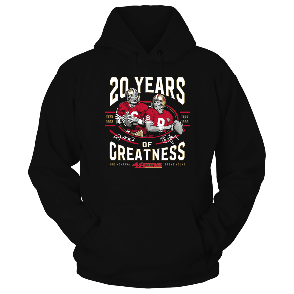 Joe Montana, Steve Young - 20 Years Of Greatness Front picture