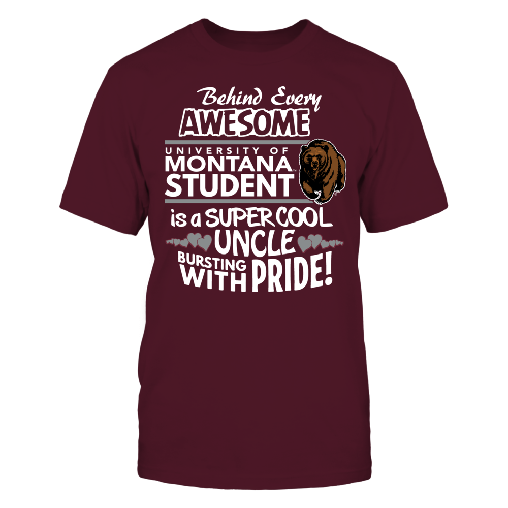 University of Montana Super Cool Uncle Front picture