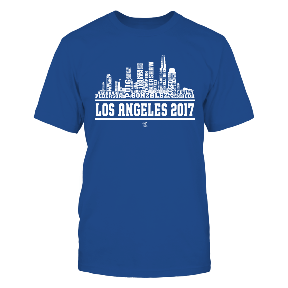 Yasiel Puig - 2017 Los Angeles Skyline Team Roster Front picture