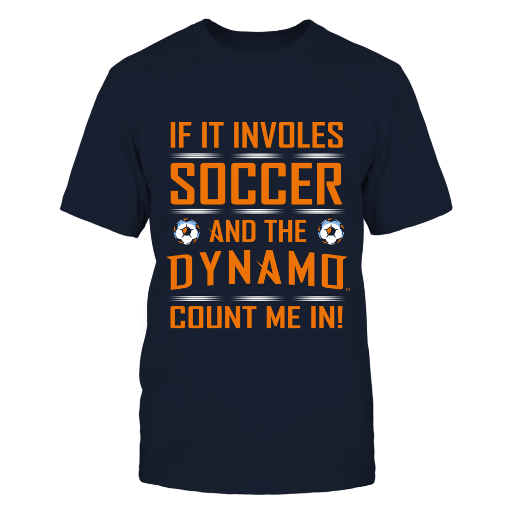 If it involves Soccer and the Dynamo, Count me in! Front picture