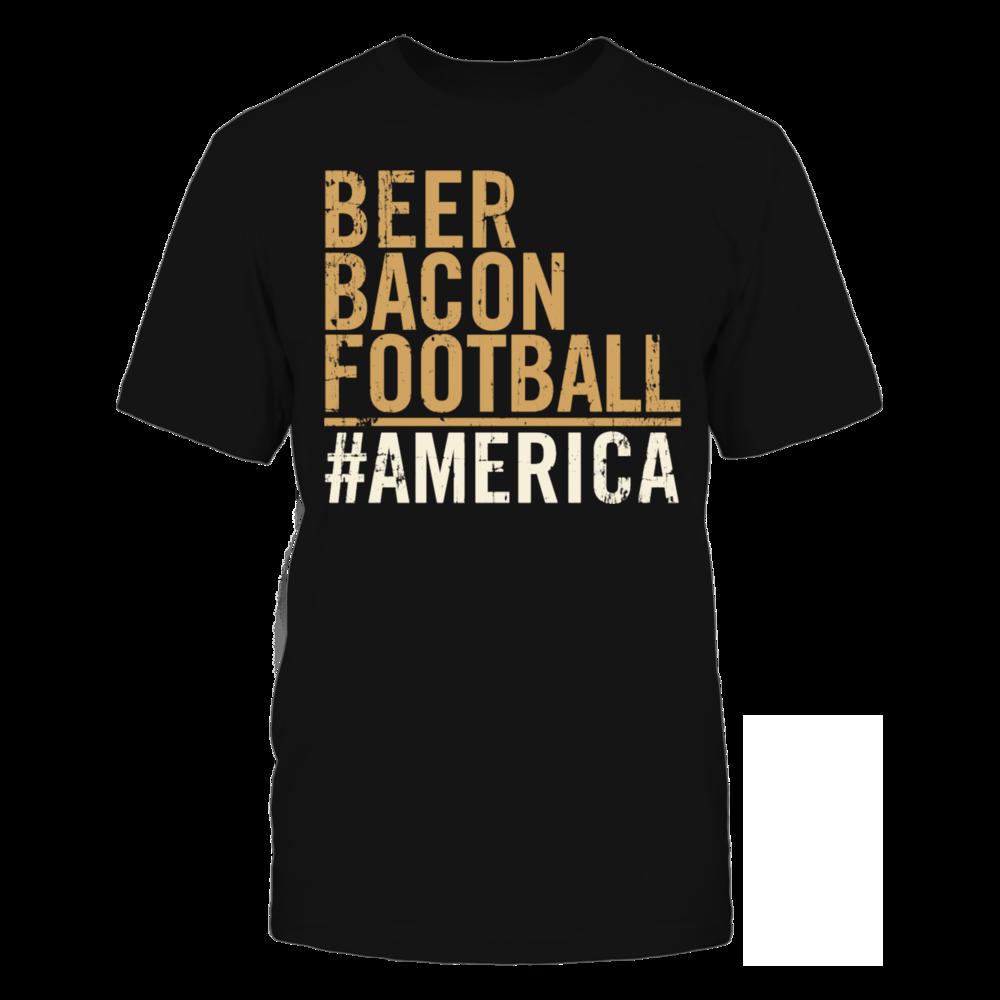 TShirt Hoodie Ameria - American pride Beer bacon football T-Shirt FanPrint
