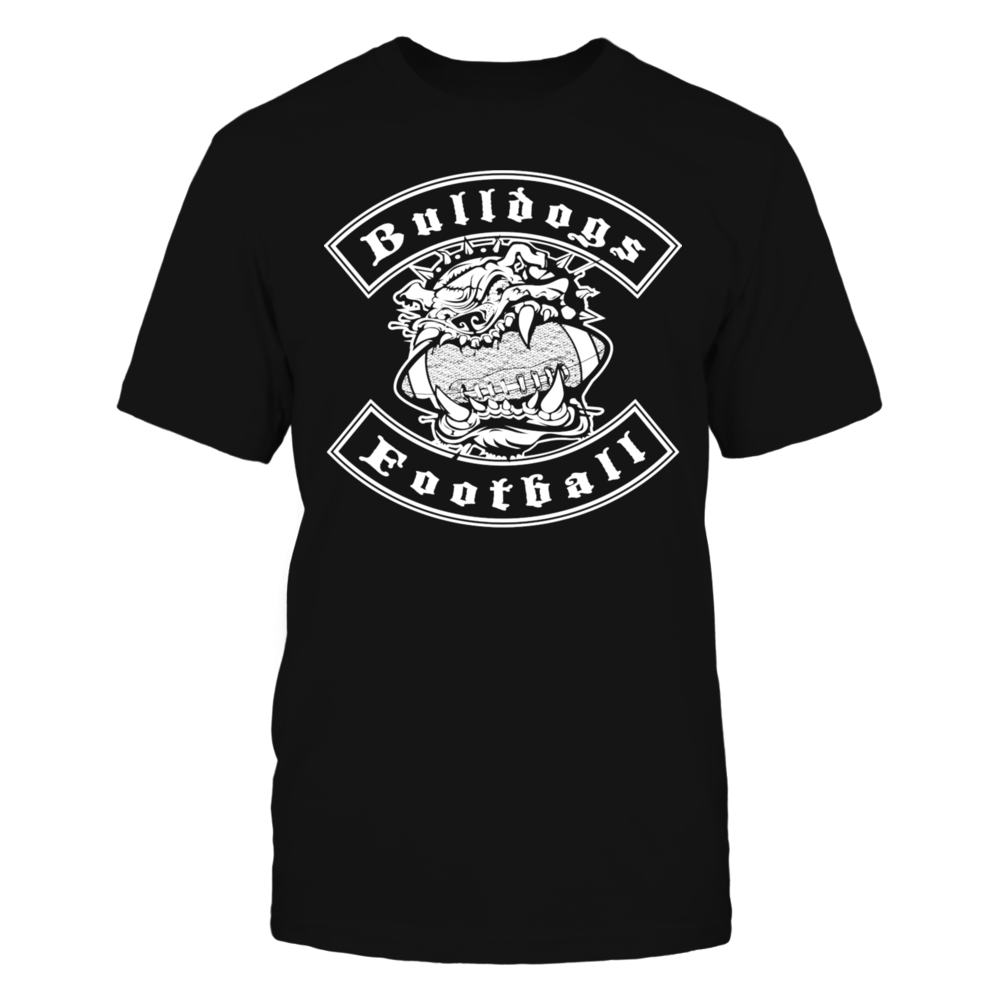 Bulldogs Football T-Shirt Front picture