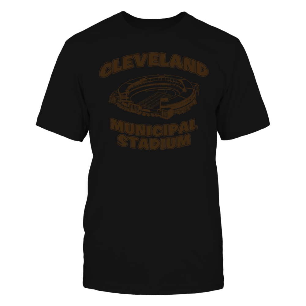 TShirt Hoodie CLEVELAND MUNICIPAL STADIUM  T-Shirt FanPrint