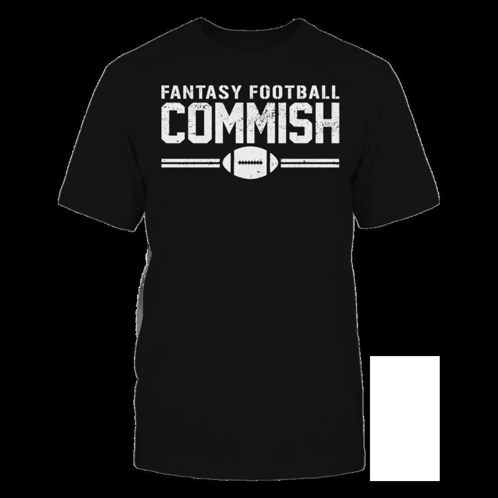 TShirt Hoodie Fantasy Football Commish T-Shirt 2 FanPrint