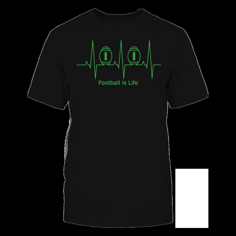TShirt Hoodie Football is Life T-Shirt FanPrint