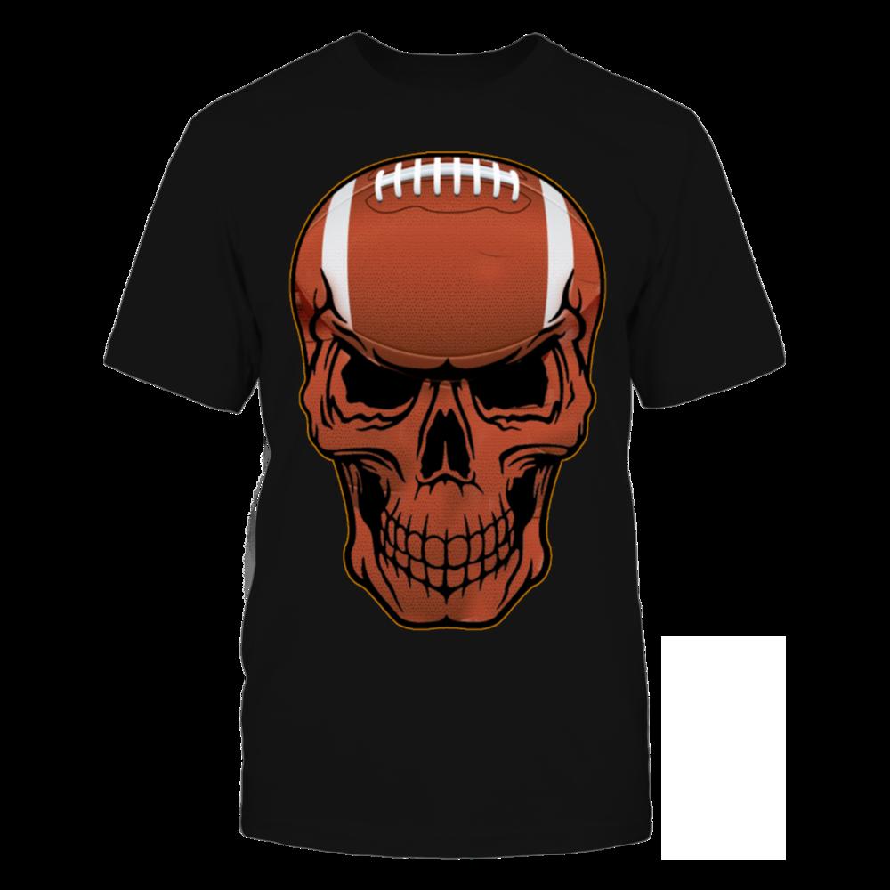TShirt Hoodie football skull T-Shirt FanPrint