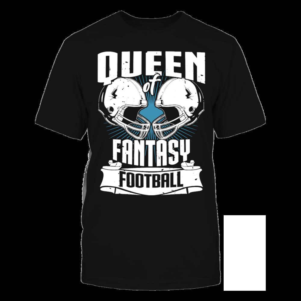 TShirt Hoodie Queen Of Fantasy Football Fantasy Sports T-Shirt FanPrint