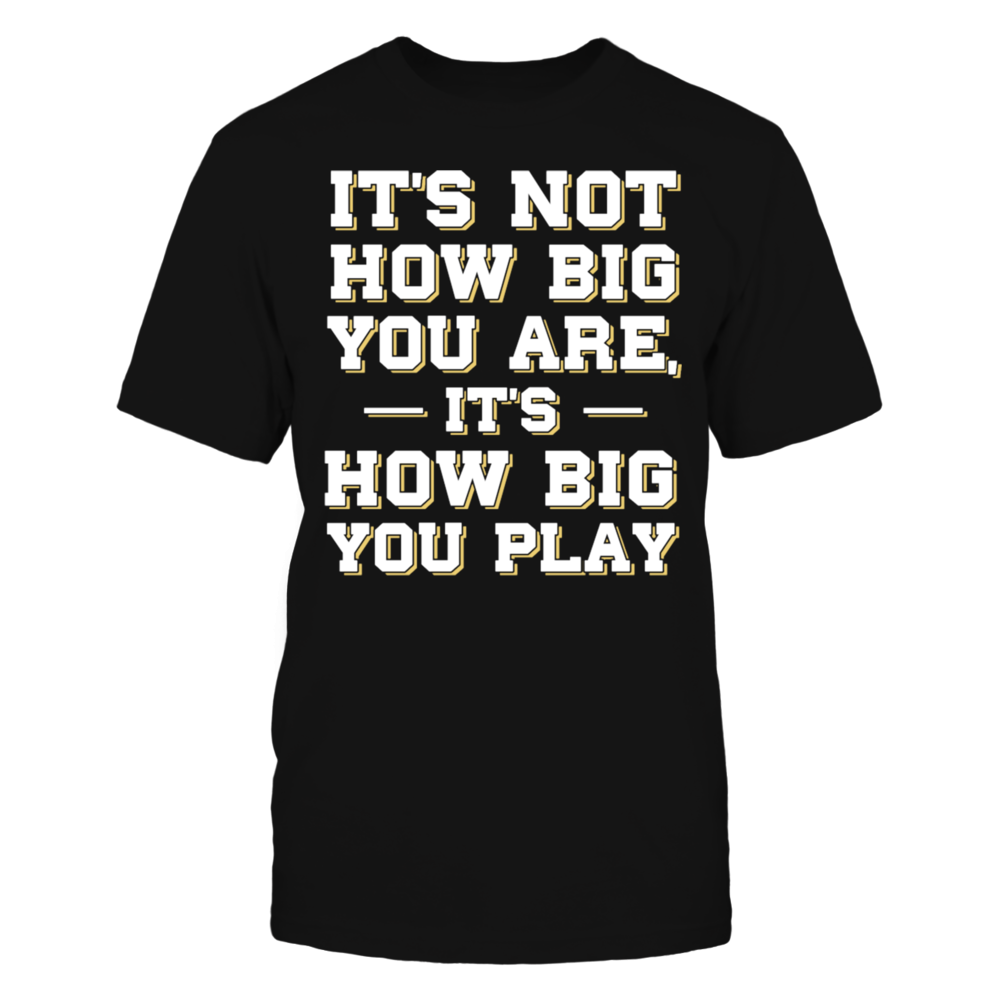 TShirt Hoodie Not How Big You Are It's How Big You Play T-Shirt T-Shirt FanPrint