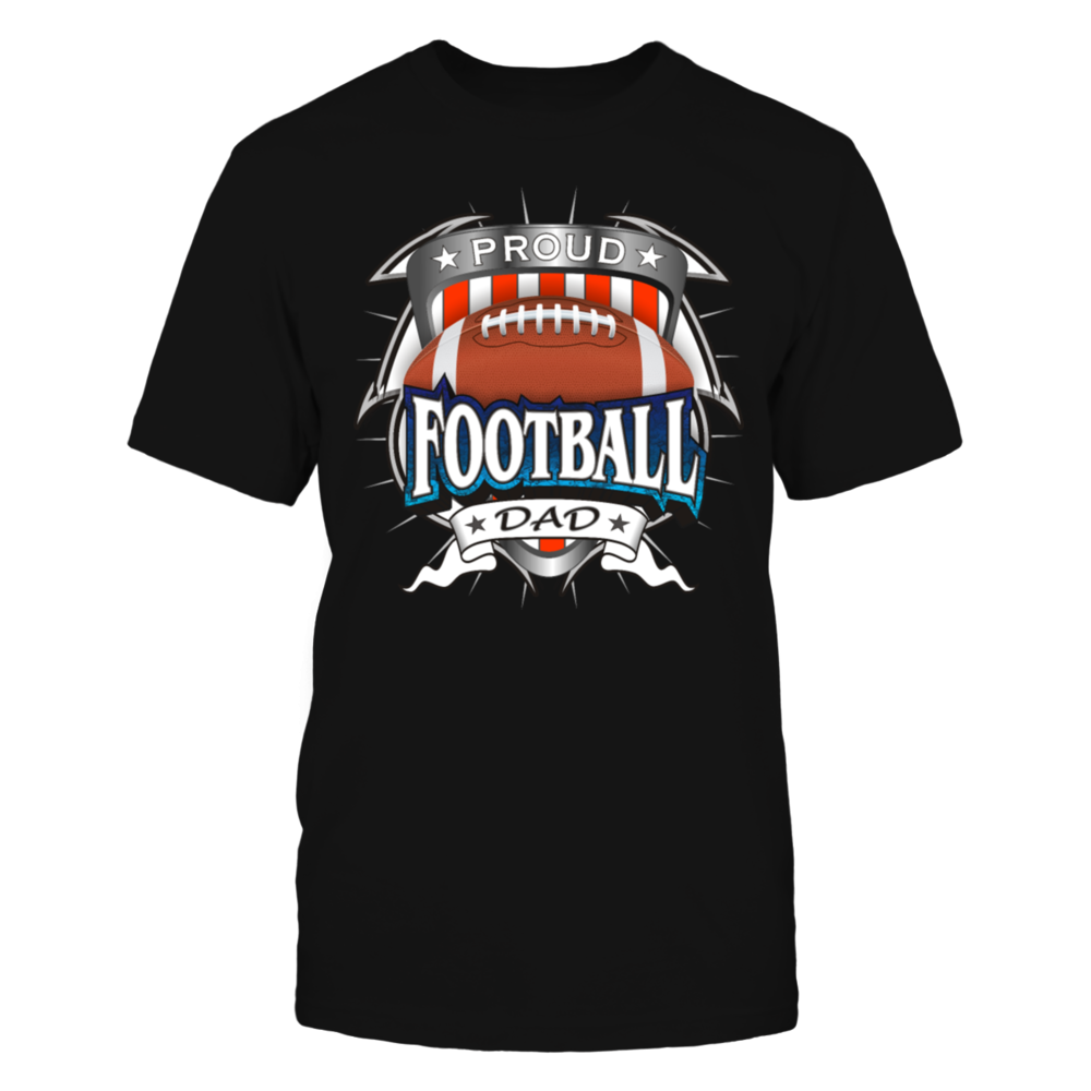 TShirt Hoodie Proud Football Dad T-Shirt FanPrint
