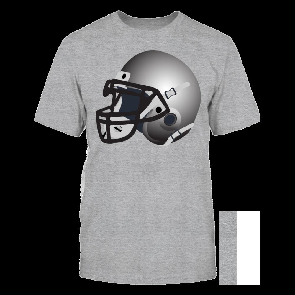 TShirt Hoodie silver football helmet T-Shirt FanPrint