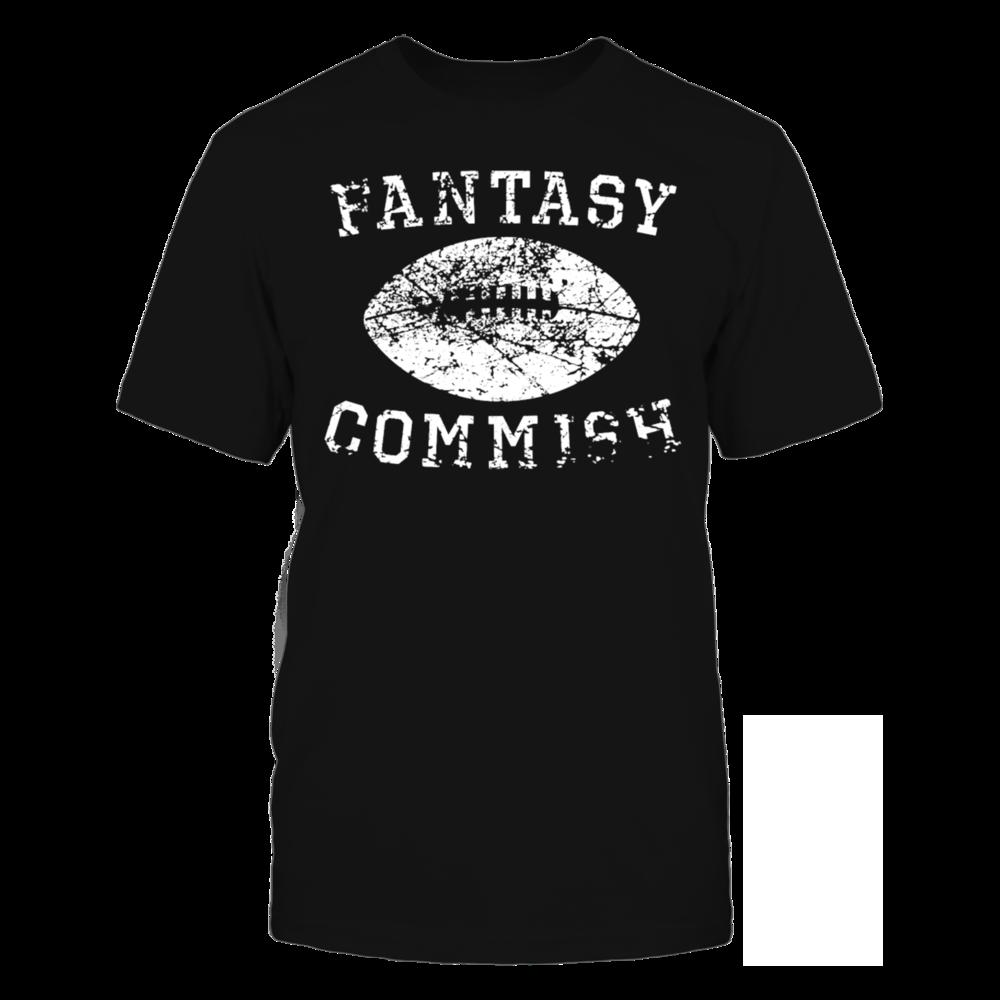 TShirt Hoodie Vintage Fantasy Football Commish Distressed Long Sleeve Shirt FanPrint
