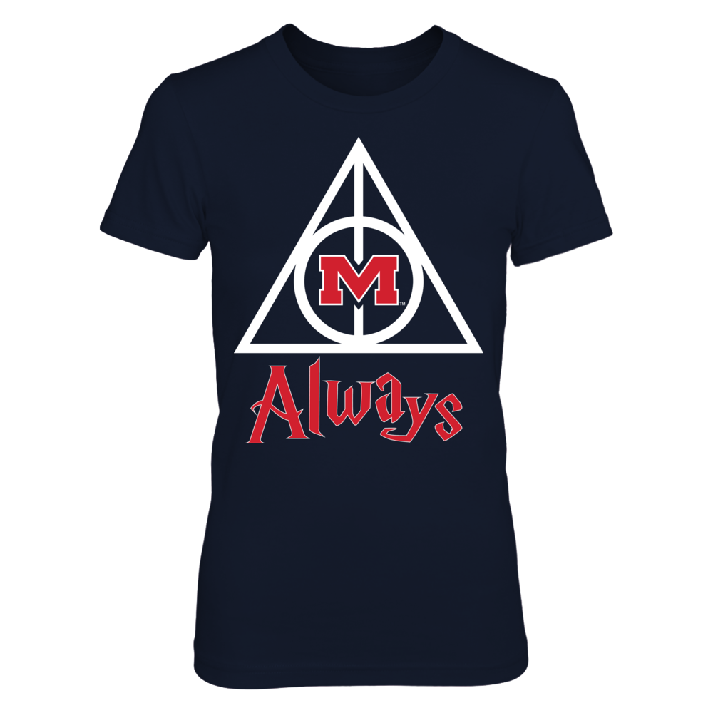 Ole Miss Rebels Ole Miss Rebels - Deathly Hallows FanPrint