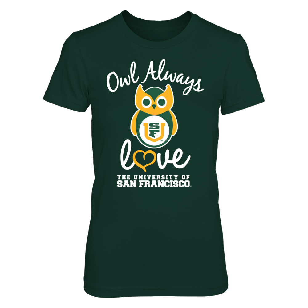 San Francisco Dons - Owl Always Front picture