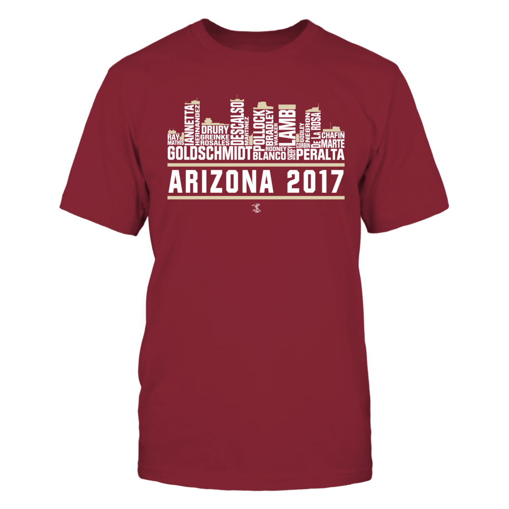 Paul Goldschmidt - 2017 Arizona Skyline Team Roster Front picture