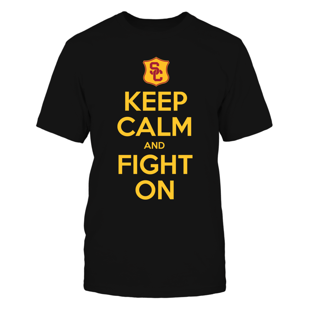 Keep Calm And Fight On - USC Trojans Front picture