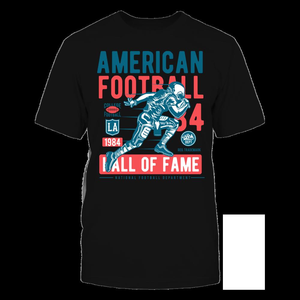 TShirt Hoodie American Football2 - Black FanPrint