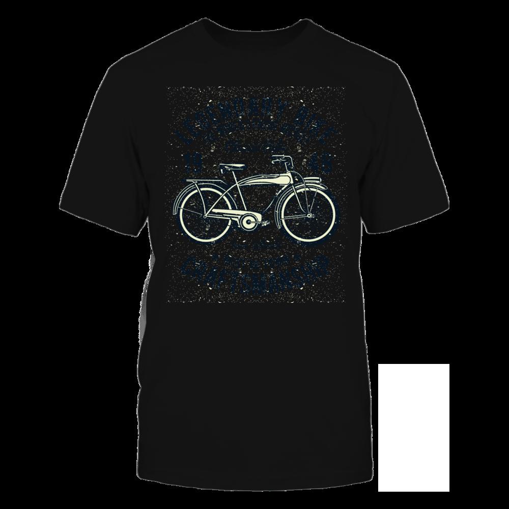TShirt Hoodie Classic Bicycle - Black FanPrint