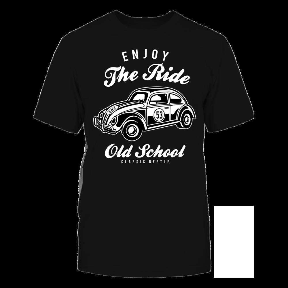 TShirt Hoodie Enjoy The Ride - Black FanPrint