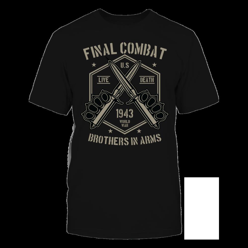 TShirt Hoodie Final Combat2 - Black FanPrint