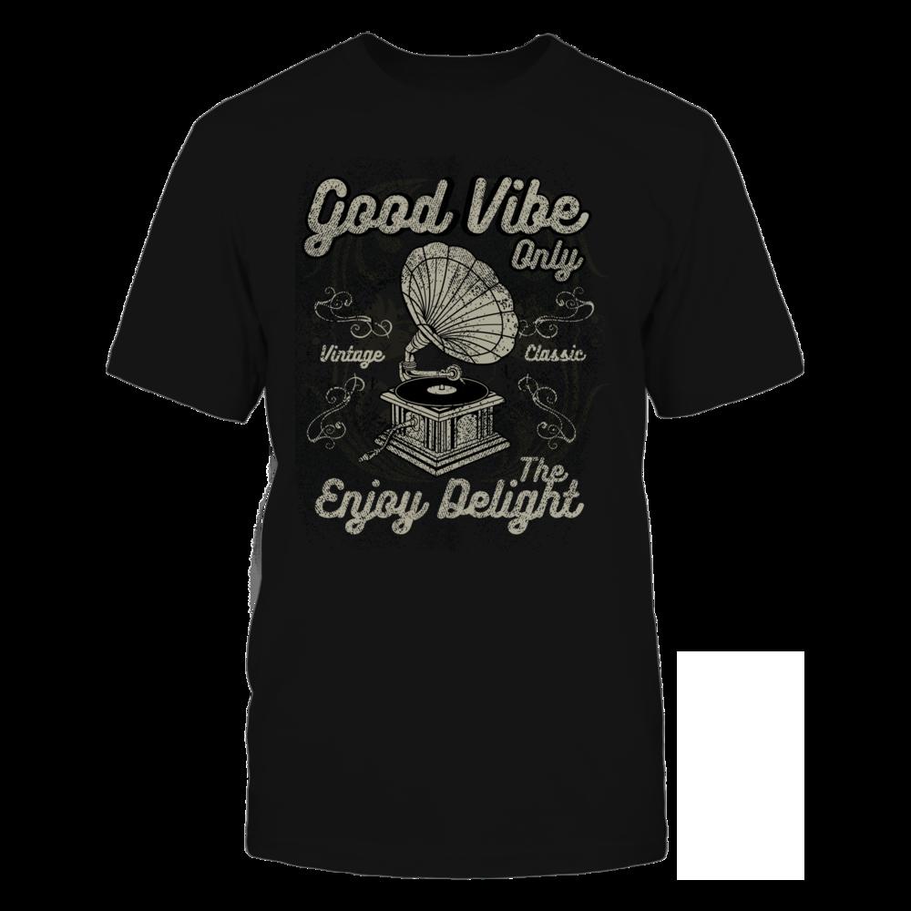 TShirt Hoodie Good Vibe Only - Black FanPrint