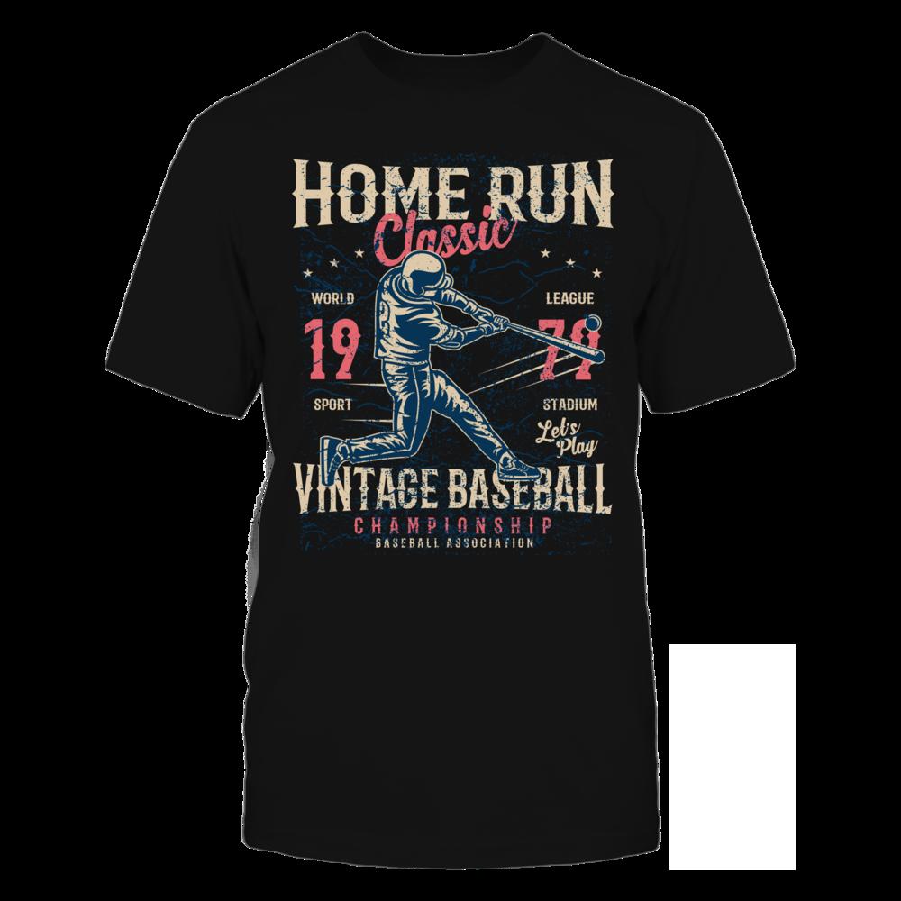 TShirt Hoodie Home Run Classic - Black FanPrint
