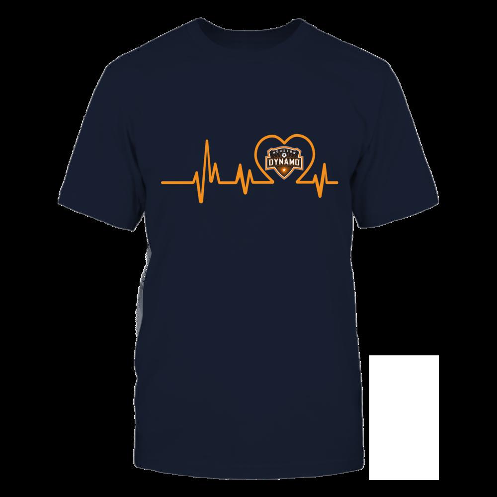Houston Dynamo Dynamo Heart Beat FanPrint