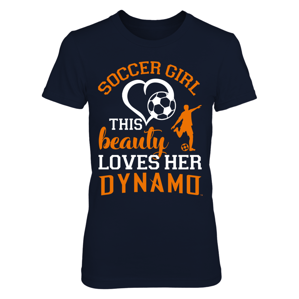 Houston Dynamo This beauty loves her Dynamo FanPrint