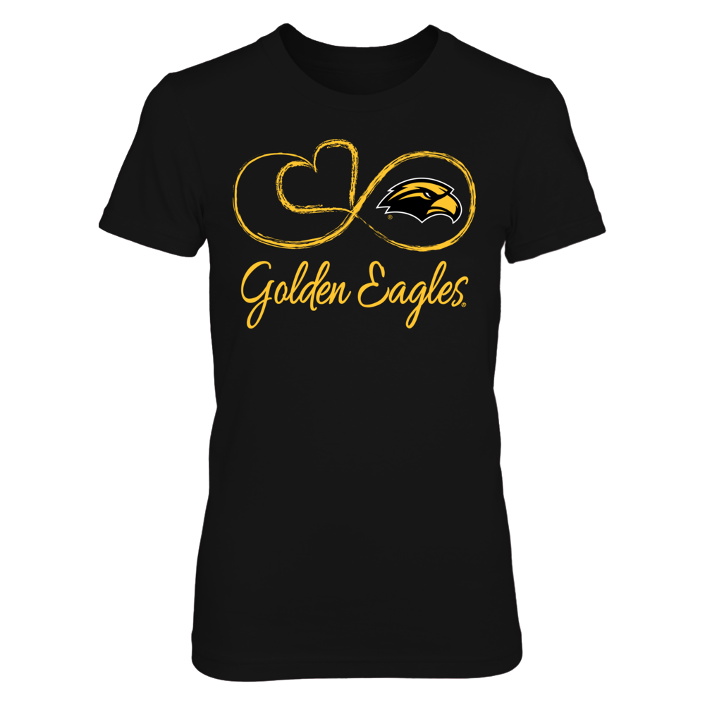 Southern Miss Golden Eagles Southern Miss Golden Eagles - Infinite Heart FanPrint