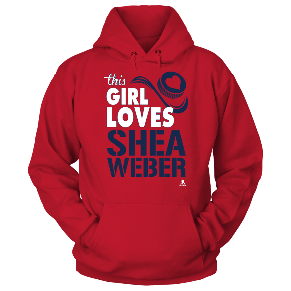 Shea Weber - This Girl Loves Front picture