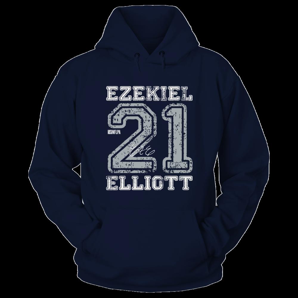 Ezekiel Elliott - Number Front picture