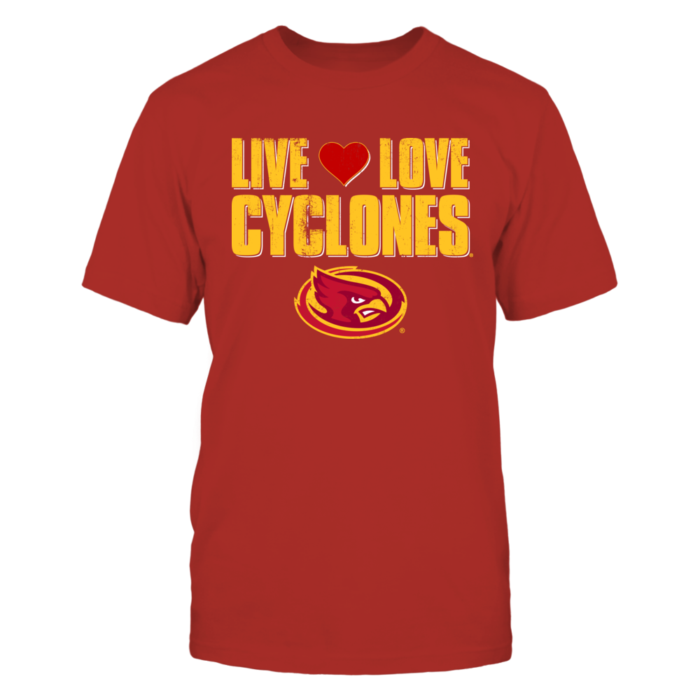 Iowa State Cyclones Live Love Cyclones - Iowa State University FanPrint